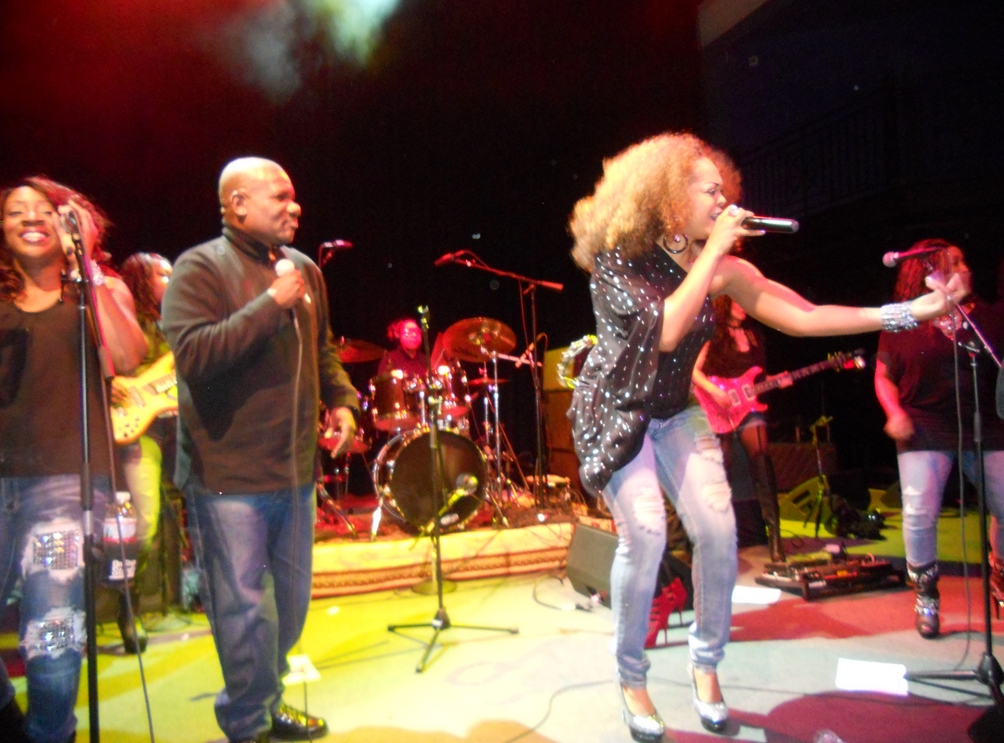 The legends Sugar Bear and Sweet Cherie for Be'la Dona