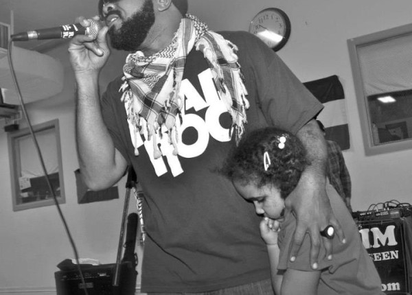 Head-Roc with daughter, 2012