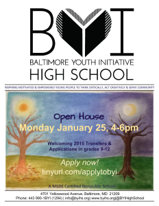 BYI Open House January 2016