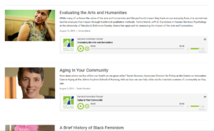 Evaluating the Arts and Humanities