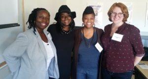 Shawntay Stocks, Catalina Byrd, Tammy Henderson, Ging Shamberger
